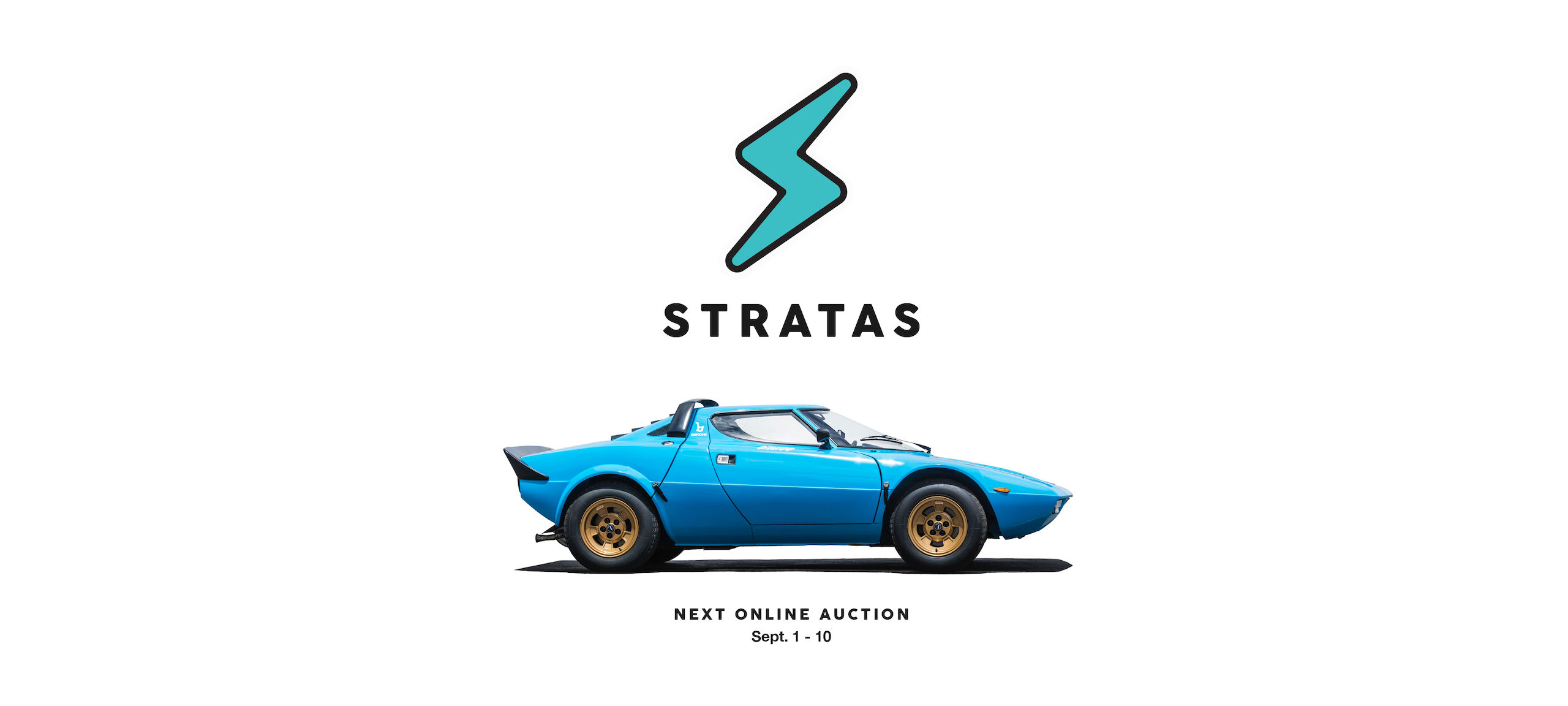 Lancia Stratos - Stratas Auctions Auctions Coming Soon Banner
